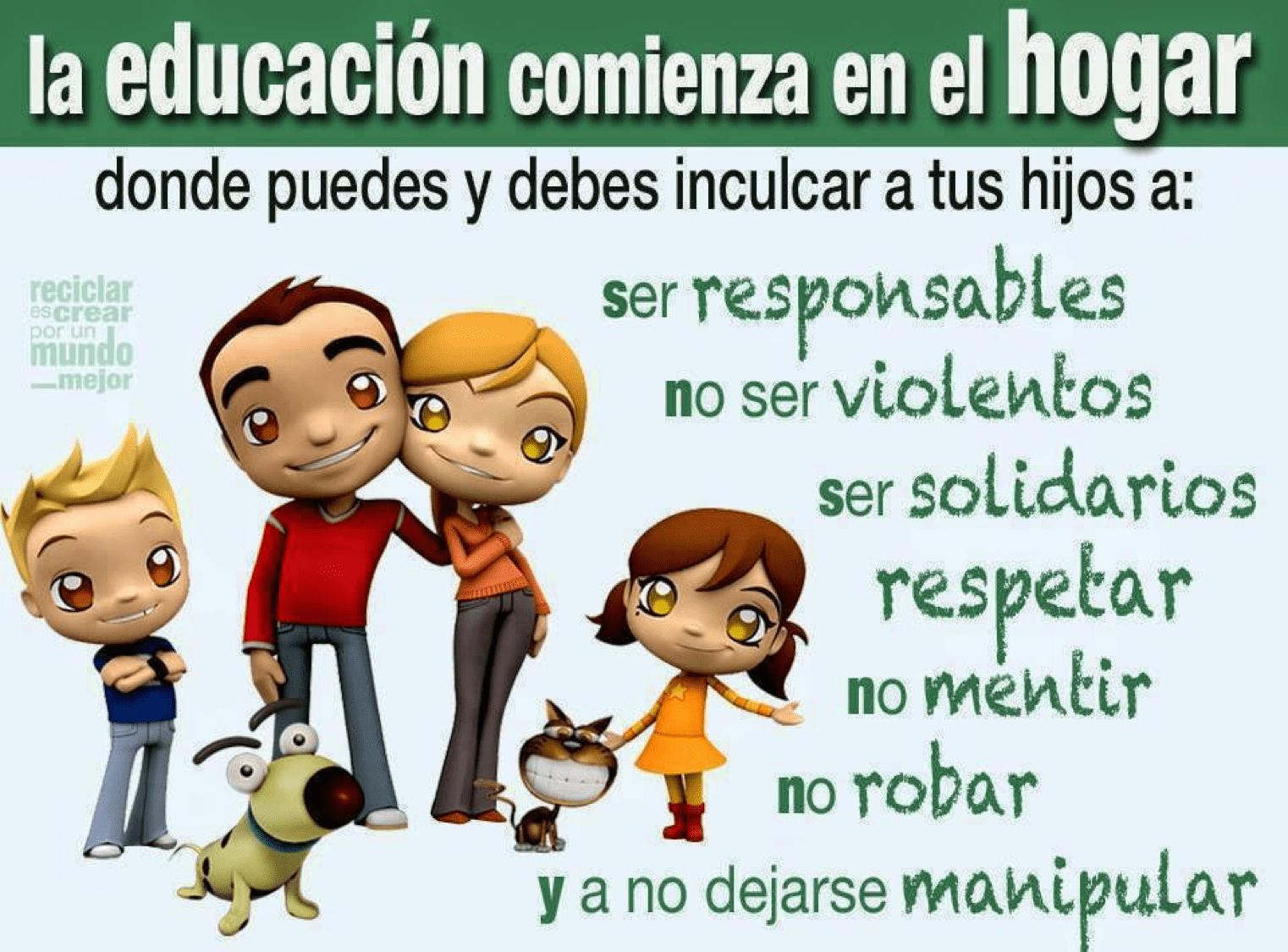 Padres Recuerden Que La Buena Educación Y La Formación En Valores Vienen De Casa