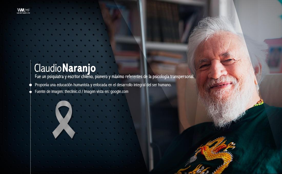 Claudio Naranjo In Memoriam Pensamientos Sobre La Educación